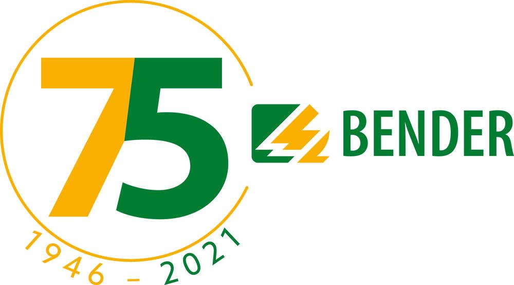 Logo 75 Jahre Bender