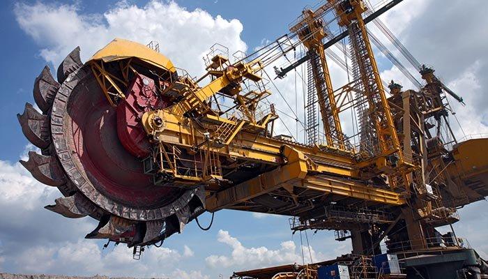 Applicazioni tipiche per HRG: Settore minerario