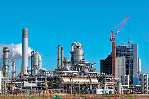 Applicazioni tipiche per HRG: Raffinerie