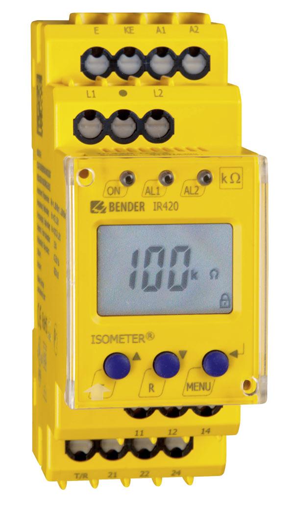 ISOMETER® IR420-D4