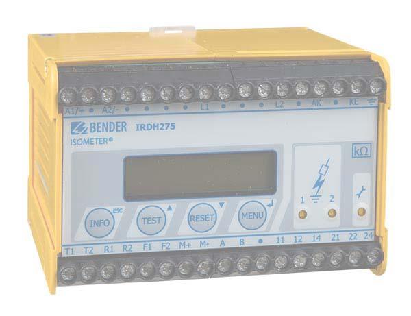 ISOMETER® IRDH275BM-7 con AGH675S-7/AGH675S-7MV15