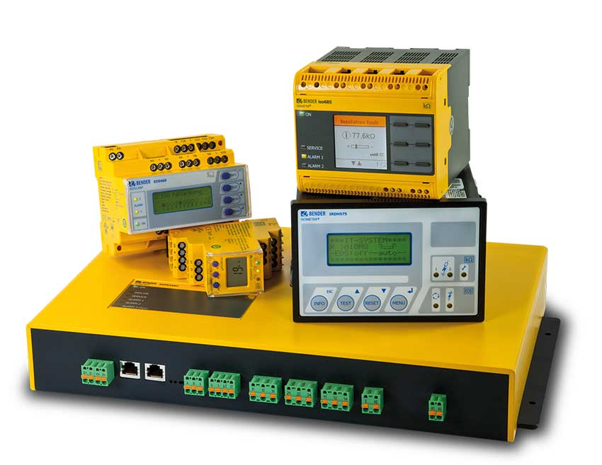 [Translate to italian:] Insulation monitoring devices for safety in the IT system