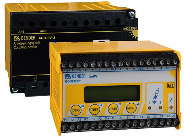 ISOMETER® isoPV con AGH-PV